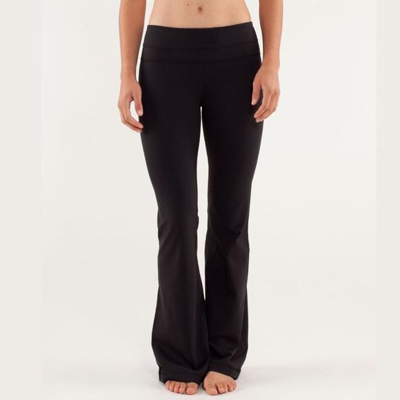 Lululemon Groove Pant Black Size 6